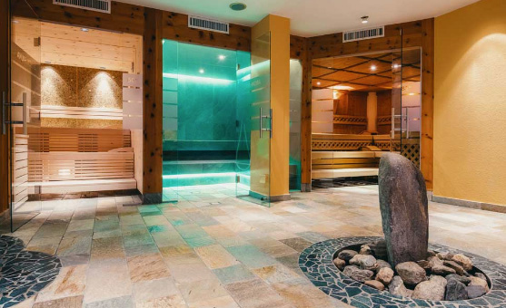 Steam Room in San Diego California